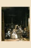 Les Menimes, 1656 Prints by Diego Velazquez