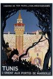 Tunis Giclée-tryk af Roger Broders
