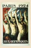 Jeux Olympiques, Paris, 1924 Poster by Jean Droit