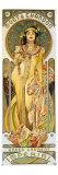 Moet et Chandon Giclée-tryk af Alphonse Mucha