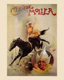 Cirque Molier Pósters
