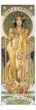 Moet et Chandon Giclee-trykk av Alphonse Mucha