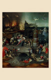 The Temptation of St. Anthony, Central Panel Prints by Hieronymus Bosch