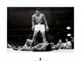 Muhammad Ali gegen Sonny Liston Poster