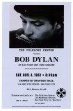 Bob Dylan, Carnegie Hall, 1961 Affiches