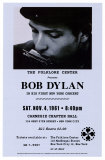 Bob Dylan in Carnegie Hall, 1961 Print