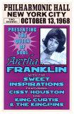Aretha Franklin, NYC, 1968 Kunstdruck