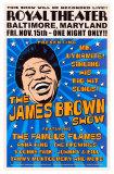 James Brown, Baltimore, 1963 Poster