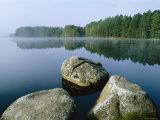 Loch Garten Rspb Reserve at Dawn, Highlands, Scotland, UK Photographic Print by Pete Cairns
