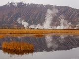 Geysers and Fumeroles of the Uzon Volcano, Kronotsky Zapovednik Reserve, Kamchatka, Russia Impressão fotográfica por Igor Shpilenok