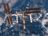 Internationale Raumstation Fotografie-Druck von  Stocktrek Images