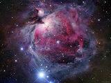 La nebulosa de Orión Lámina fotográfica por Stocktrek Images,