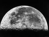 La lune Reproduction photographique par  Stocktrek Images