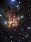 The Northern Trifid Nebula Fotografisk trykk av Stocktrek Images,