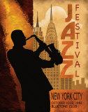 Jazz in New York, 1962 高品質プリント : コンラッド・ナッツセン