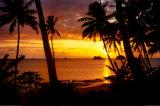 Sunset Lagoon Foto von Beverly Factor