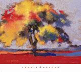 Twilight Oak I Posters by Dennis Rhoades