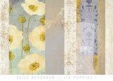 Ice Poppies I Kunstdruck von Elise Remender