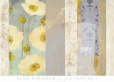 Ice Poppies I Posters by Elise Remender