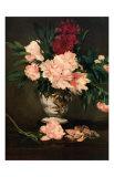Vase de Pivoines, c.1864 Kunst af Edouard Manet