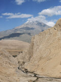 Mount Demavand, Elburz Mountains, Iran, Middle East Photographic Print by Richard Ashworth