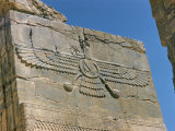 Ahura Mazda, Supreme God in Zoroastrianism, Persepolis, Unesco World Heritage Site, Iran Fotografie-Druck von Richard Ashworth