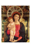 Le Retable de San Zeno (detail) Print by Andrea Mantegna