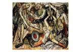 Night, c.1918 Konst av Max Beckmann