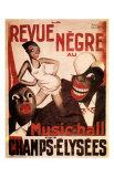 La Revue Negre, c.1925 Prints by Paul Colin