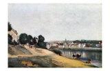 Chateau Thierry, Vue d'Ensemble Posters par Jean-Baptiste-Camille Corot