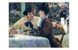 At Father Lathuille Posters by Edouard Manet