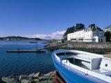 Boat and Lochalsh Hotel, Kyle of Lochalsh, Scotland Reproduction photographique par Pearl Bucknall