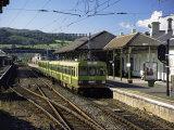 The Dart, Dublin's Light Railway, Bray Railway Station, Dublin, Eire (Republic of Ireland) Reproduction photographique par Pearl Bucknall