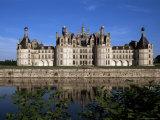 Chateau De Chambord, Loire Valley, Unesco World Heritage Site, Loir-Et-Cher, Centre, France Reproduction photographique par Charles Bowman