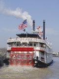 Mississippi Steam Boat, New Orleans, Louisiana, USA Reproduction photographique Premium par Charles Bowman