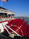 Paddle Steamer 'Natchez' on the Mississippi River, New Orleans, Louisiana, USA Reproduction photographique par Bruno Barbier