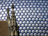 Selfridges Building and St. Martin's Church, Bullring, Birmingham, England, United Kingdom Reproduction photographique par Jean Brooks