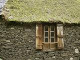 Detail of House Near Bielsa, Huesca, Aragon, Spain Reproduction photographique par Michael Busselle