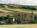 Village of Chitry, Burgundy, France Reproduction photographique par Michael Busselle