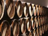 Casks in Cellar, Chateau Lynch Bages, Pauillac, Medoc, Cote d'Or, Burgundy, France Reproduction photographique par Michael Busselle