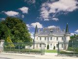 Chateau Palmer, Medoc, Aquitaine, France Reproduction photographique par Michael Busselle