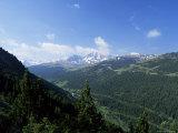El Cubil and Obac d'Envalira, from Across Vall De Soldeu, Soldeu, Andorra Photographic Print by Pearl Bucknall