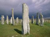 Callanish Standing Stones, Isle of Lewis, Outer Hebrides, Western Isles, Scotland Reproduction photographique par Jean Brooks