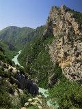 Verdon Gorges, Alpes-De-Haute-Provence, Provence, France Reproduction photographique par Michael Busselle