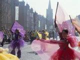 St. Patrick's Parade, Patrick Street, Dublin, County Dublin, Eire (Ireland) Reproduction photographique par Bruno Barbier