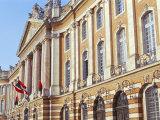 Hotel De Ville (Town Hall), Le Capitole, Town of Toulouse, Haute-Garonne, Midi-Pyrenees, France Fotografisk trykk