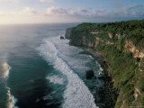Coast, Island of Bali, Indonesia, Southeast Asia Reproduction photographique par Bruno Barbier