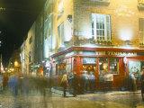 Bar Fleet Street, Temple Bar Area, Dublin, County Dublin, Eire (Ireland) Reproduction photographique par Bruno Barbier