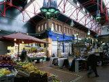 Covered Market, Great George Street Area, Dublin, County Dublin, Eire (Ireland) Reproduction photographique par Bruno Barbier