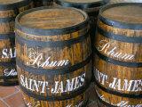 Barrels of Rum, French Antilles, West Indies, Central America Reproduction photographique par Bruno Barbier